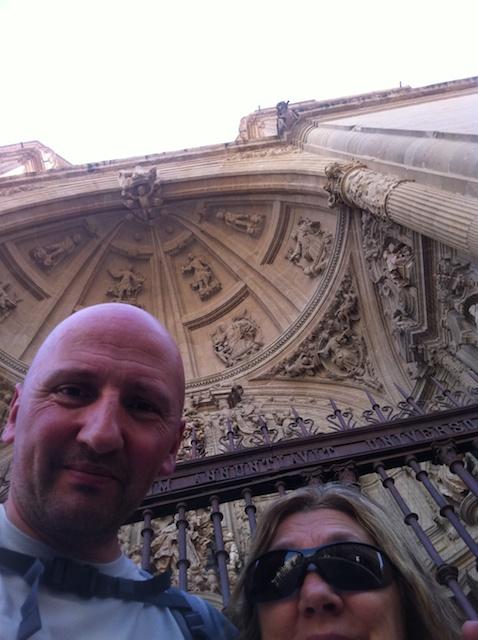 En la portada renacentista de la Catedral